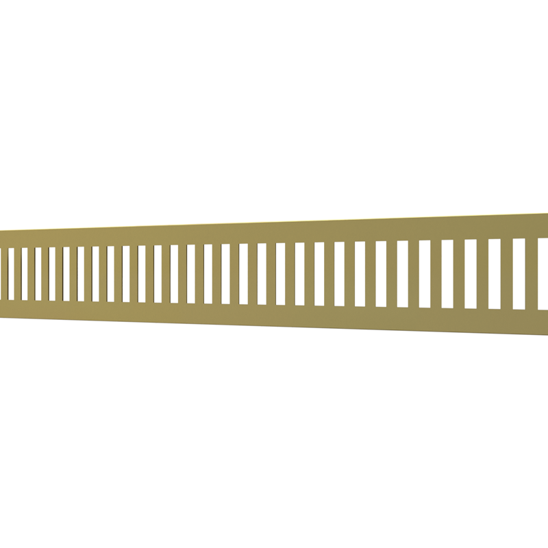 10_Linear_Covers_Vertical_Polished_Gold_Small_H_001.png - QuickDrain Linear Drain 18 in. Vertical Cover in Polished Gold