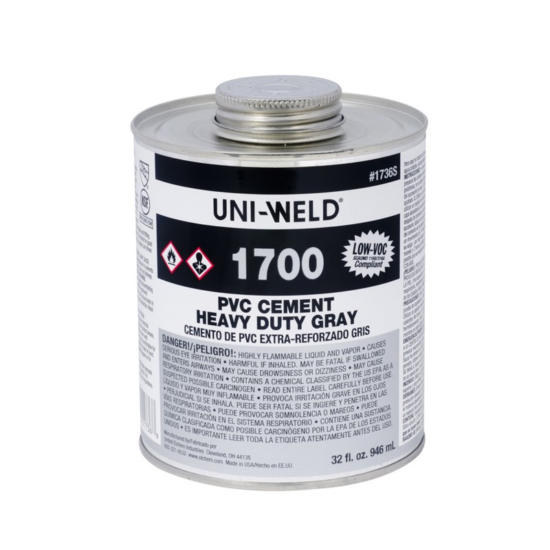Oatey® 1700 Series PVC Heavy Duty Gray Cement