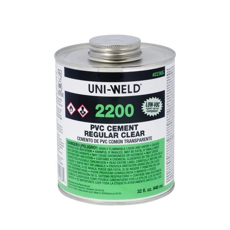 Oatey® 2200 Series PVC Cement Regular Clear