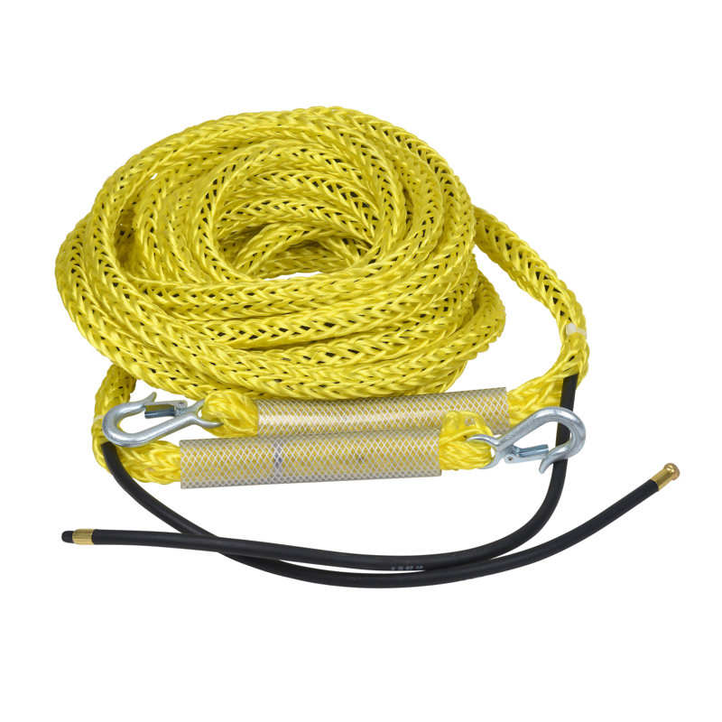 "Cherne® 40' 40' Hose With Poly Lift Line, 3/16"" ID"
