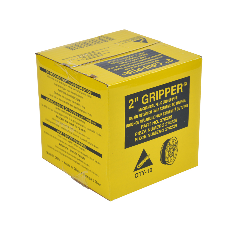 "Cherne® 2"" End of Pipe Gripper® Plug"