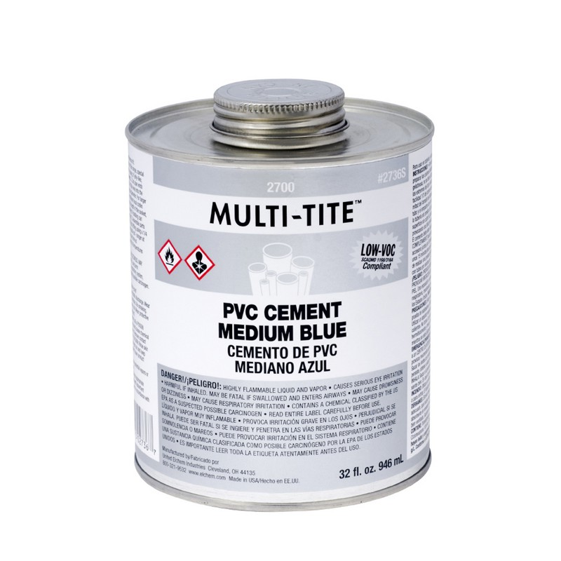 Oatey® Multi-Tite™ 2700 Series Medium Blue PVC Cement