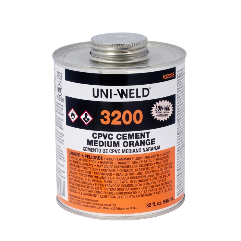 Oatey® 3200 Series CPVC Medium Orange Cement