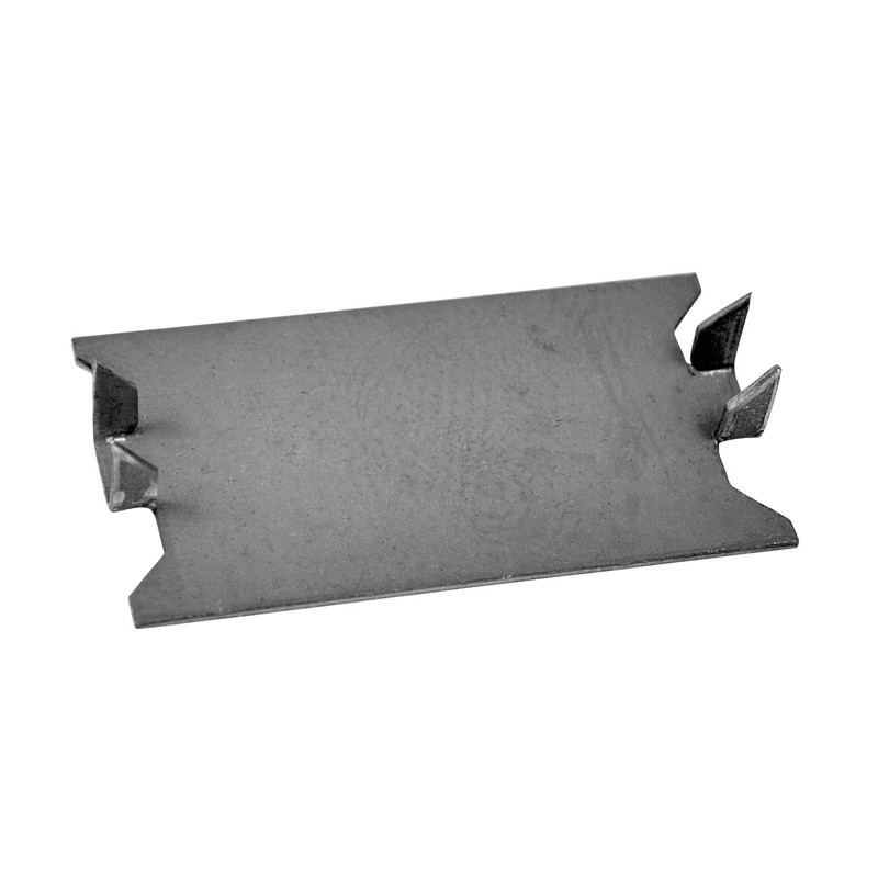 Oatey® 1-1/2 in. x 3 in. 18 Gauge Self-Nailing Stud Guard – 2-1/2 in. between points