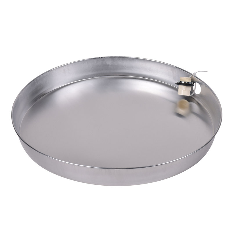 Oatey® 20 in. Aluminum Water Heater Pans with 1 in.CPVC Adapter