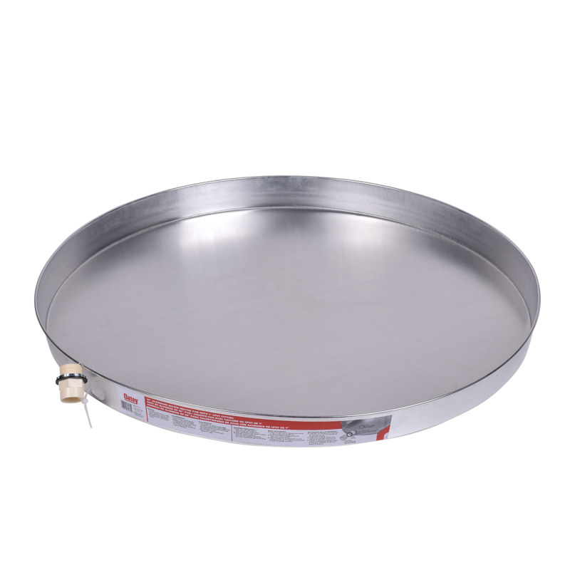 Oatey® 30 in. Aluminum Water Heater Pans with 1 in.CPVC Adapter