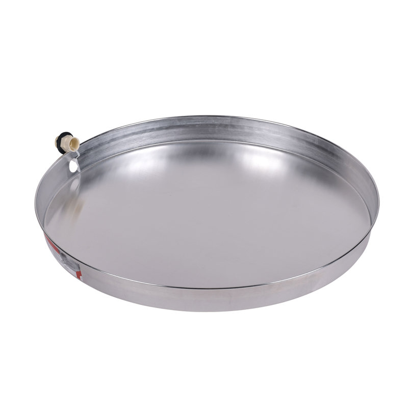 Oatey® 28 in. Aluminum Water Heater Pans with 1 in.CPVC Adapter
