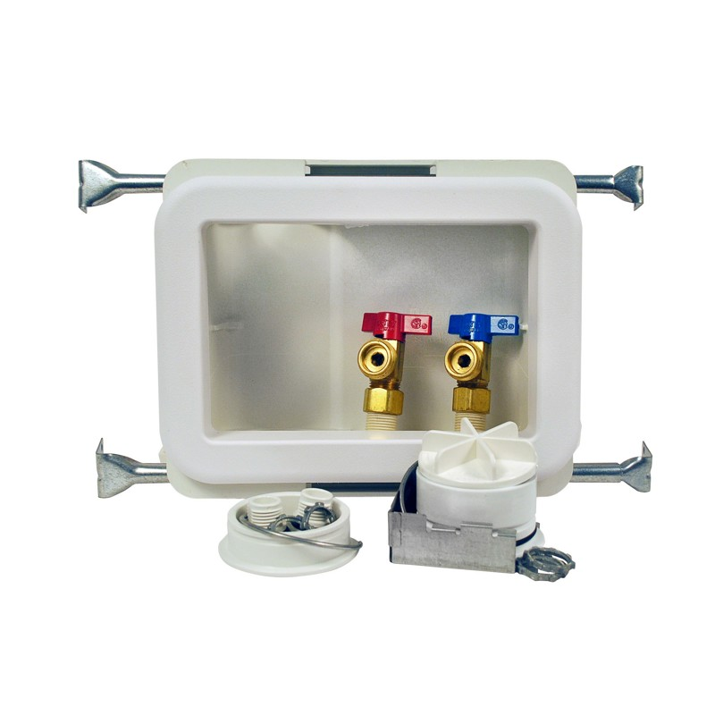 38471.jpg - Oatey® Fire Rated, 1/4 Turn, CPVC - Washing Machine Outlet Box, Standard Pack