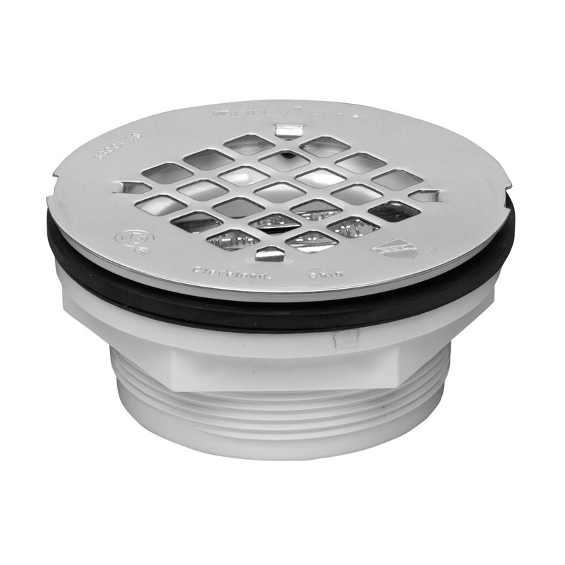 Oatey® 2 in. 101 PNC ABS NO-CALK shower drain w/ plastic strainer