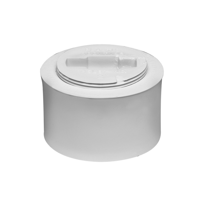 43711_image.jpg - Oatey® 2 in. or 3 in. PVC Snap-In Cleanout Assembly