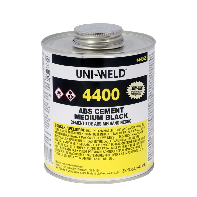 Oatey® 4400 Series ABS Medium Black Cement