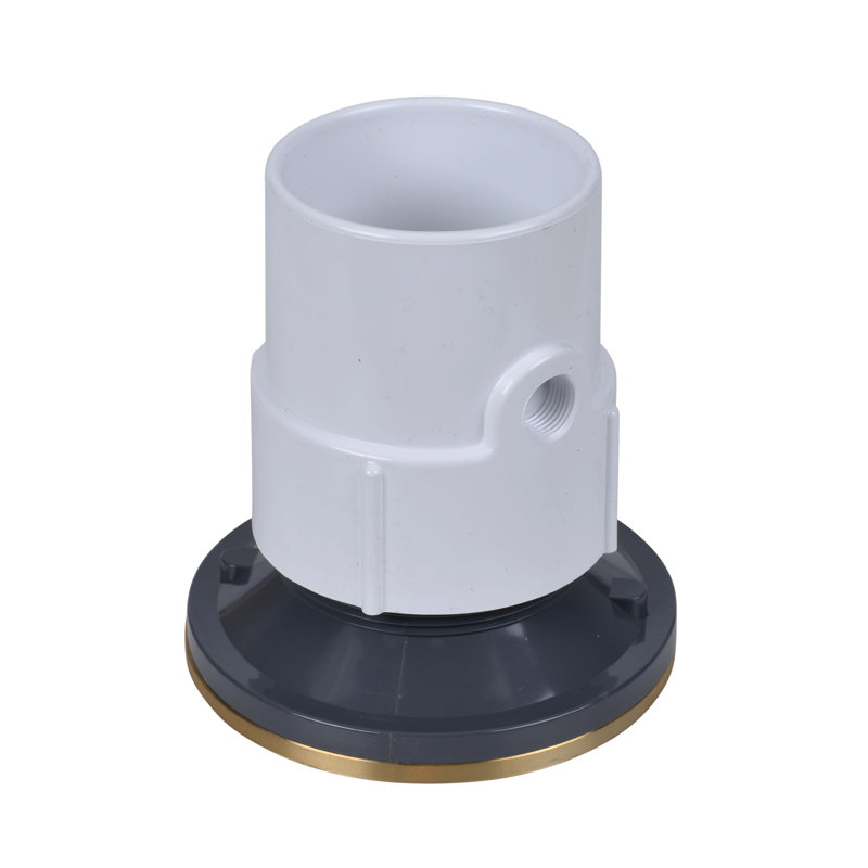 74137_b.jpg - Oatey® 3 In. or 4 In. PVC General Purpose Cleanout w/ 6 In. BR Cover & Round Ring