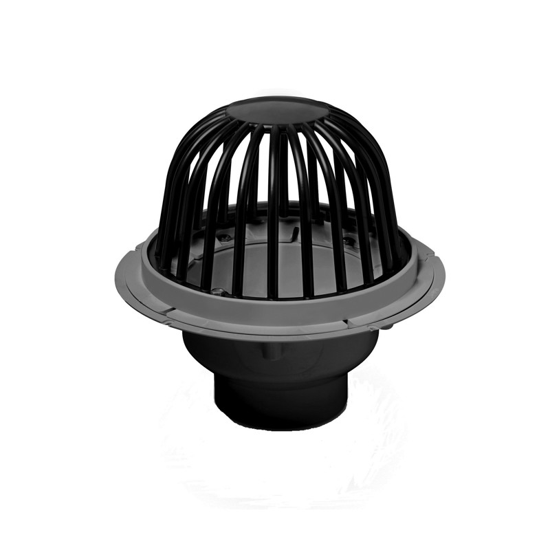 """Oatey® 2"""" PVC Roof Drain w/ ABS Dome & Dam Collar"""