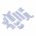 Dearborn® Full Cover Kit, Offset Grid Drain, Two Supply Line and Valve Covers
