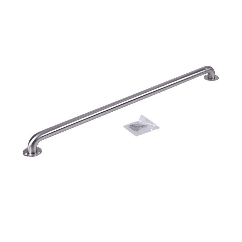 "Dearborn® 1-1/2"" x 42"" Stainless Steel Grab Bar w/ Exposed Flange, Satin Finish"