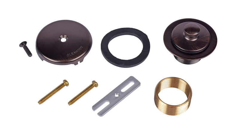 Dearborn® Conversion Kit, Uni-Lift Stopper w/ Rubbed Bronze Finish Trim