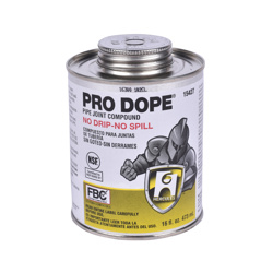 Hercules® 1 pt. Pro Dope® Thread Sealant with Screw Cap With Brush