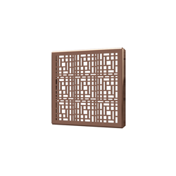 038753015477_H_001.png - SquareDrain 5 in. Deco Cover in Polished Rose Gold