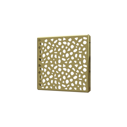 038753015514_H_001.png - SquareDrain 5 in. Stones Cover in Polished Gold