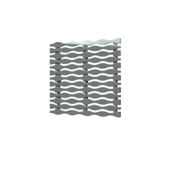 038753015811_H_001.png - SquareDrain 5 in. Stream Cover in Polished Stainless Steel