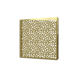 038753016009_H_001.png - SquareDrain 6 in. Stones Cover in Polished Gold