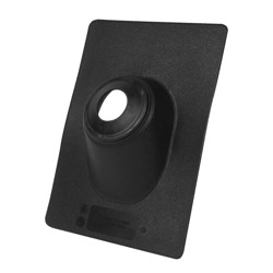 038753119090_H_001.jpg - Oatey® 2 in. Thermoplastic No-Calk 9.25 in. x 13 in. Base Roof Flashing