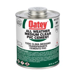 038753311333_H_001.jpg - Oatey® 16 oz. PVC All Weather Clear Cement