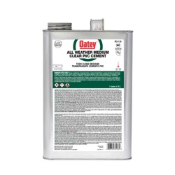 038753311357_H_001.jpg - Oatey® Gallon PVC All Weather Clear Cement