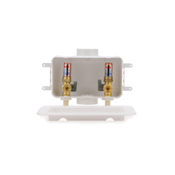 038753381039-01-01.jpg - Oatey® Centro, 1/4 Turn, CPVC – Assembled - Washing Machine Outlet Box – Contractor Pack