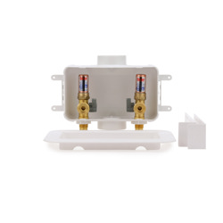 038753381053-01-01.jpg - Oatey® Centro, 1/4 Turn, F1807 – Assembled - Washing Machine Outlet Box – Contractor Pack