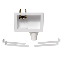 038753386713_H_001.jpg - Oatey® Eliminator, 1/4 Turn, F1807,Top Mount, Washing Machine Outlet Box  - Contractor Pack