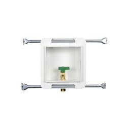 Oatey® Fire Rated, 1/4 Turn, Copper, Low Lead, Ice Maker Outlet Box - Standard Pack