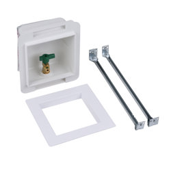 Oatey® Fire Rated, 1/4 Turn, F1807, Low Lead, Ice Maker Outlet Box - Standard Pack