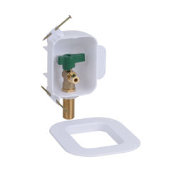 Oatey® I2K, 1/4 Turn, Copper, Low Lead, Ice Maker Outlet Box - Standard Pack