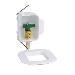Oatey® I2K, 1/4 Turn, CPVC, Low Lead, Ice Maker Outlet Box - Contractor Pack