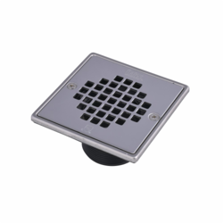 038753422763_H_001.jpg - Oatey® ABS Square Barrel Only Polished Stainless Steel Screw-In In Strainer with Ring