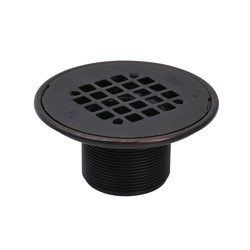 038753422985_H_001.jpg - Oatey® ABS Round Barrel Only Oil Rubbed Bronze Snap-In Strainer with Ring
