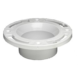 038753435091_H_001.jpg - Oatey® 3 in. PVC Closet Flange with Plastic Ring without Test Cap