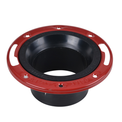 038753435343_H_001.jpg - Oatey® 3 in. or 4 in. ABS Long Pattern Closet Flange with Metal Ring without Test Cap