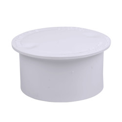038753435732_H_001.jpg - Oatey® 3 in. PVC Snap-In Drain Outlet Cover