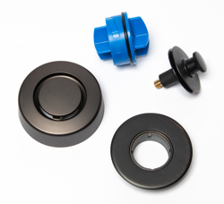 Dearborn True Blue Trim Kit, Push n' Pull Stopper, Oil Rubbed Bronze