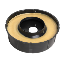 078864011159_H_001.jpg - Harvey™ No-Seep® 3 in. or 4 in. No. 10 Extra Thick Wax Gasket
