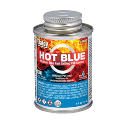 Oatey® 4 oz. PVC Medium Body Hot Blue Cement