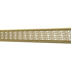 10_Linear_Covers_Deco_Polished_Gold_Small_H_001.png - QuickDrain Linear Drain 18 in. Deco Cover in Polished Gold