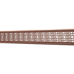 10_Linear_Covers_Deco_Polished_Rose_Gold_Small_H_001.png - QuickDrain Linear Drain 18 in. Deco Cover in Polished Rose Gold