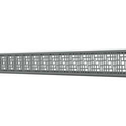 10_Linear_Covers_Deco_Polished_Stainless_Steel_Small_H_001.png - QuickDrain Linear Drain 18 in. Deco Cover in Polished Stainless Steel
