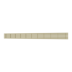 10_Linear_Covers_Lines_Polished_Gold_Large_H_001.png - QuickDrain Linear Drain 56 in. Lines Cover in Polished Gold