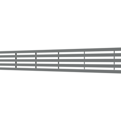 10_Linear_Covers_Lines_Polished_Stainless_Steel_Small_H_001.png - QuickDrain Linear Drain 32 in. Lines Cover in Polished Stainless Steel
