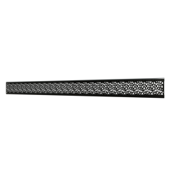 10_Linear_Covers_Stones_Polished_Black_Medium_H_001.png - QuickDrain Linear Drain 48 in. Stones Cover in Polished Black