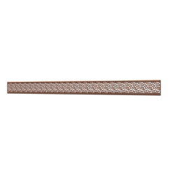 10_Linear_Covers_Stones_Polished_Rose_Gold_Large_H_001.png - QuickDrain Linear Drain 56 in. Stones Cover in Polished Rose Gold